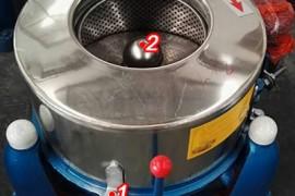 图解工业脱水机如何拆卸更换易损件