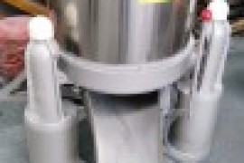 脚刹式自动卸料脱水机