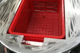 泰山洗涤设备公司方框脱水机 方形篮脱水机